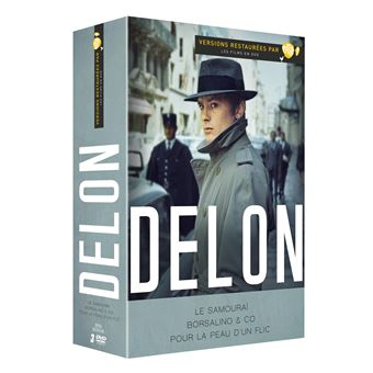 Coffret Alain Delon 3 films DVD