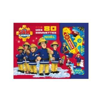 Sam le pompier sam le pompier 80 gommettes de no l - Sam le pompier noel ...