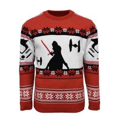 M NEUF Officiel Numskull Noël Pull Star Wars Millennium Falcon UK L US