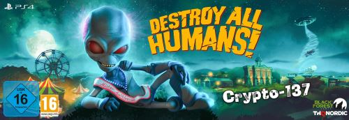 Destroy All Humans! Crypto-137 PS4