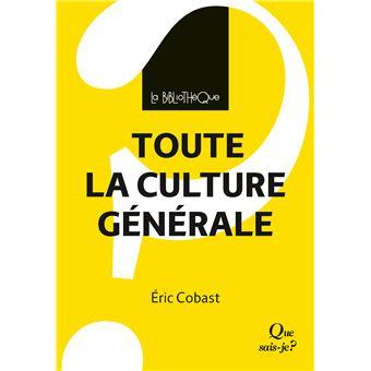 Culture générale utilité