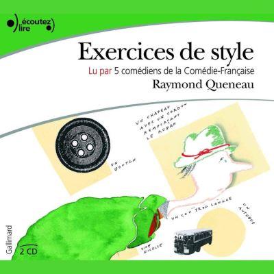 Exercices de style - 9782072308253 - 11,99 €