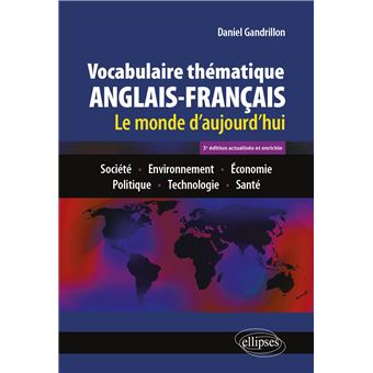 Vocabulaire Thematique Anglais Francais