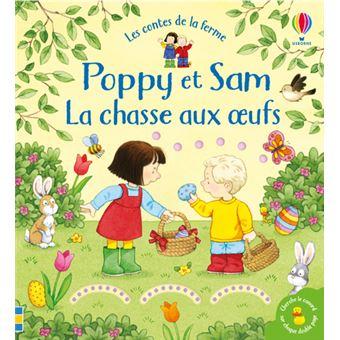 Poppy et SamLa chasse aux oeufs