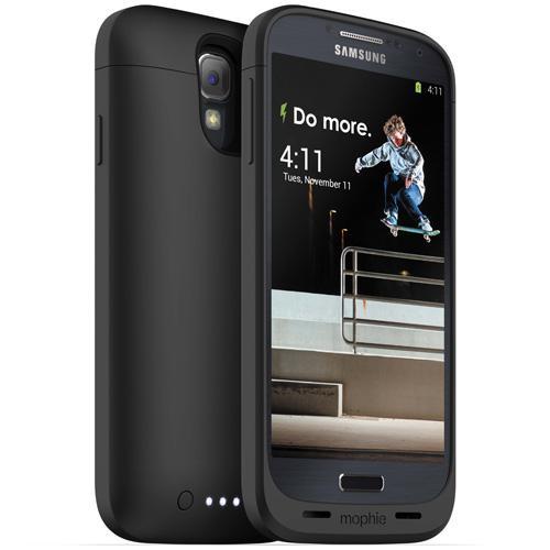 Coque Batterie Mophie Juice Pack Air pour Samsung Galaxy S4, Noire