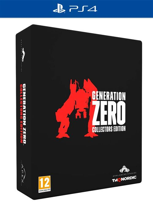 Generation Zero Edition Collector PS4