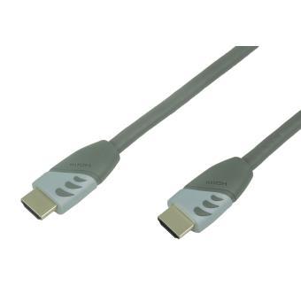 Câble Temium HDMI 2.0 4K 5 m Or