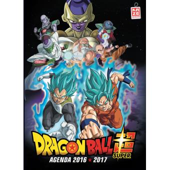 dragon ball agenda scolaire 2016 2017 dragon ball super collectif broch achat livre fnac. Black Bedroom Furniture Sets. Home Design Ideas
