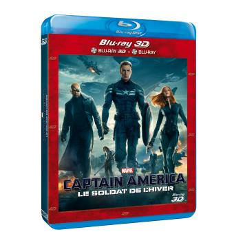 Captain AmericaCaptain America, le soldat de l'hiver Combo Blu-Ray 3D