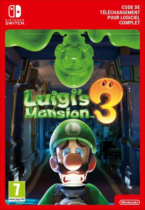 Code de téléchargement Nintendo Switch : Luigi's MansionTM 3