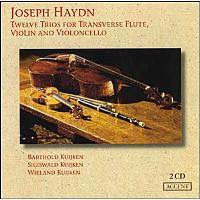 Zwölf Trios Für Traversflöte,V
