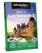 WOND Coffret cadeau Wonderbox Nuit et gastronomie au château