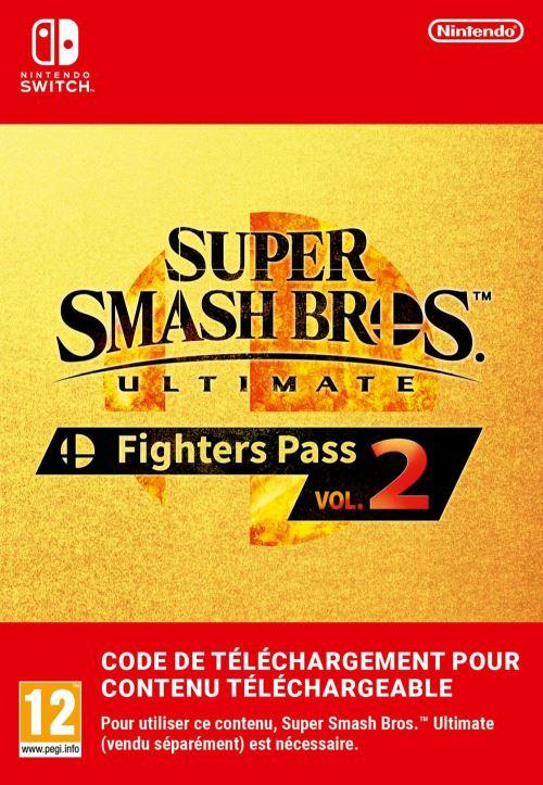 Code de téléchargement Nintendo Switch Super Smash Bros Ultimate Fighters Pass Volume 2