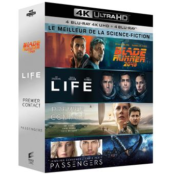 Coffret Le Meilleur de la science-fiction Blu-ray 4K Ultra HD