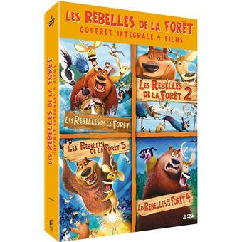 Coffret Les Rebelles de la forêt La tétralogie DVD