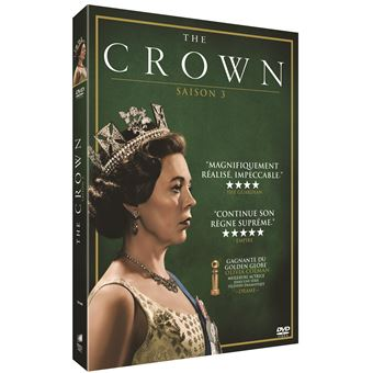 The CrownCoffret The Crown Saison 3 DVD