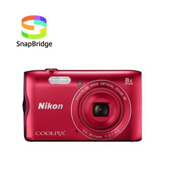 Compact Nikon Coolpix A300 Rouge