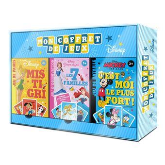 Disney ClassicsGrand coffret de 3 jeux de cartes