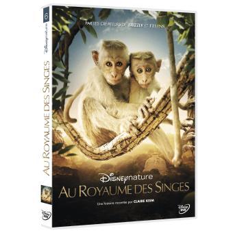 Au royaume des singes DVD