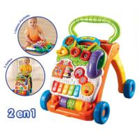 Vtech - Super Loopwagen 2 in 1 - Oranje