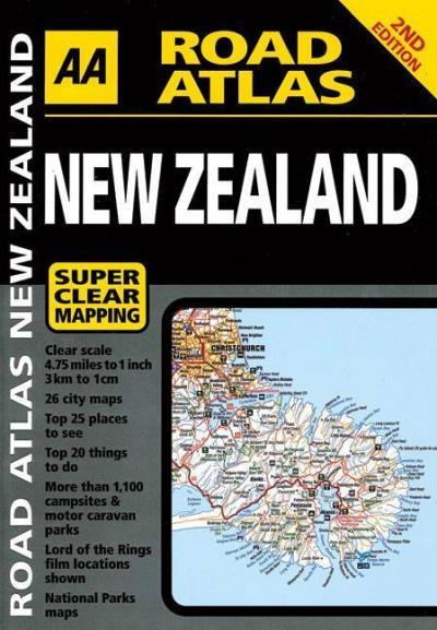 Aa road atlas new zealandg solutioingenieria Image collections