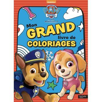 Pat Patrouille Mon Grand Livre De Coloriages Collectif Broche Achat Livre Fnac