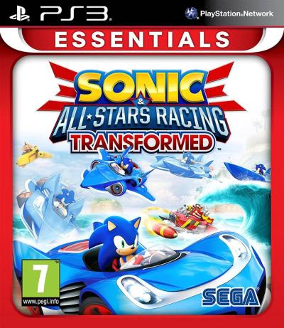 Sonic & All-Stars Racing Transformed Essentials VF PS3