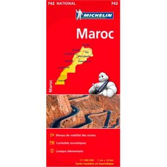 Carte De Bourgogne Michelin.Carte Maroc Michelin 1 1000000 Broche Michelin Achat Livre Fnac
