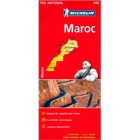 Carte Maroc Michelin