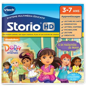 Jeu pour tablette HD Vtech Storio Dora and Friends