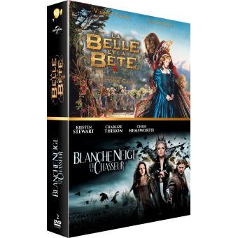 Coffret La Belle et la Bête et Blanche Neige et le chasseur Edition Limitée DVD