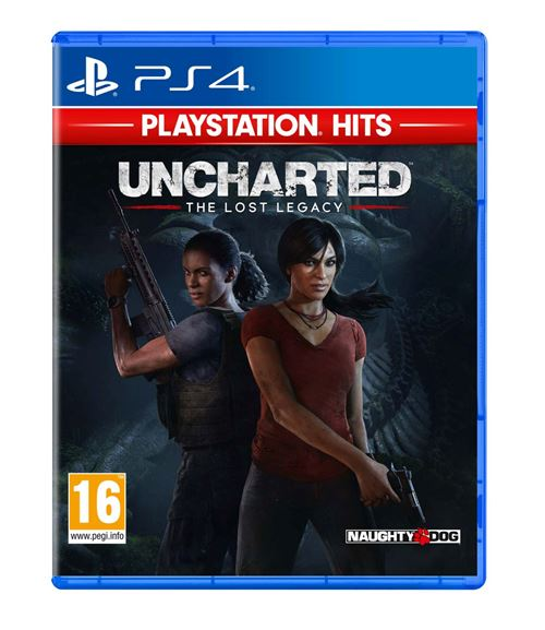 Uncharted The Lost Legacy PlayStation Hits PS4