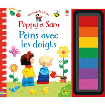 Poppy et SamPeins avec les doigts : Les contes de la ferme