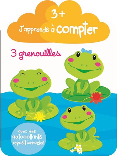 J'apprends à compter, 3+