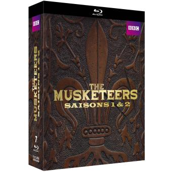 The MusketeersCoffret The Musketeers Saisons 1 et 2 Edition limitée Blu-ray