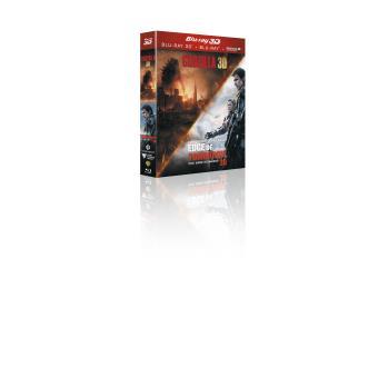 Godzilla, la trilogieCoffret Edge of tomorrow + Godzilla Blu-ray 3D