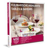 Coffret cadeau Smartbox Tables & Saveurs