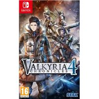 Valkyria Chronicles 4 Nintendo Switch