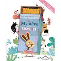 Le mystère du paquet de biscuits gros caractères