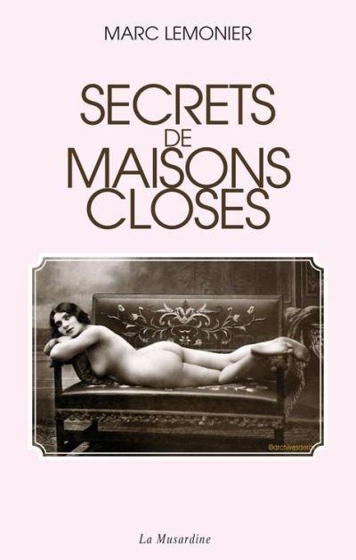 Secrets de maisons closes - 9782842716509 - 14,99 €