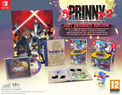 Prinny 1-2 Exploded & Reloaded Nintendo Switch
