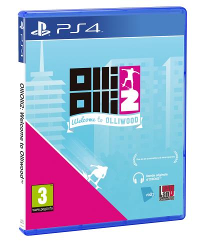 OlliOlli 2 : Welcome to Olliwood PS4