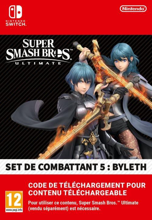 Code de téléchargement Nintendo Switch Super Smash Bros Ultimate Set de combat 5 Byleth