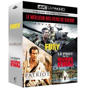 Coffret Le Meilleur des films de guerre Blu-ray 4K Ultra HD