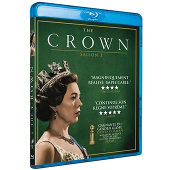 The CrownCoffret The Crown Saison 3 Blu-ray