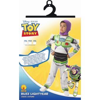 Déguisement Toy Story Buzz l'Eclair avec Capuche, Taille M