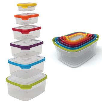 Set de 6 boîtes alimentaires de conservation Joseph Joseph Nest Storage