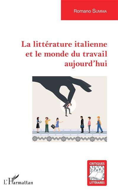 La littérature italienne et le monde du travail aujourd'hui