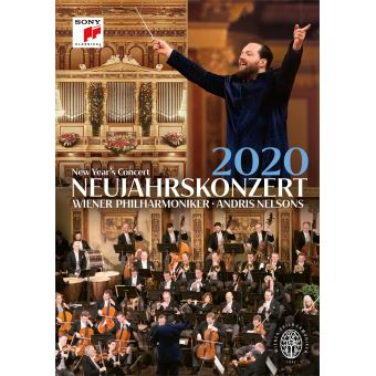 Concert du Nouvel An 2020 Blu-ray