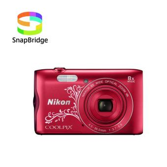 Compact Nikon Coolpix A300 Rouge Lineart